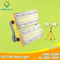 LED Flood Light 50W 100W 150W AC 185 265V Waterproof IP65 Spotlight Outdoor Wall Lamp garden Lamp lighting