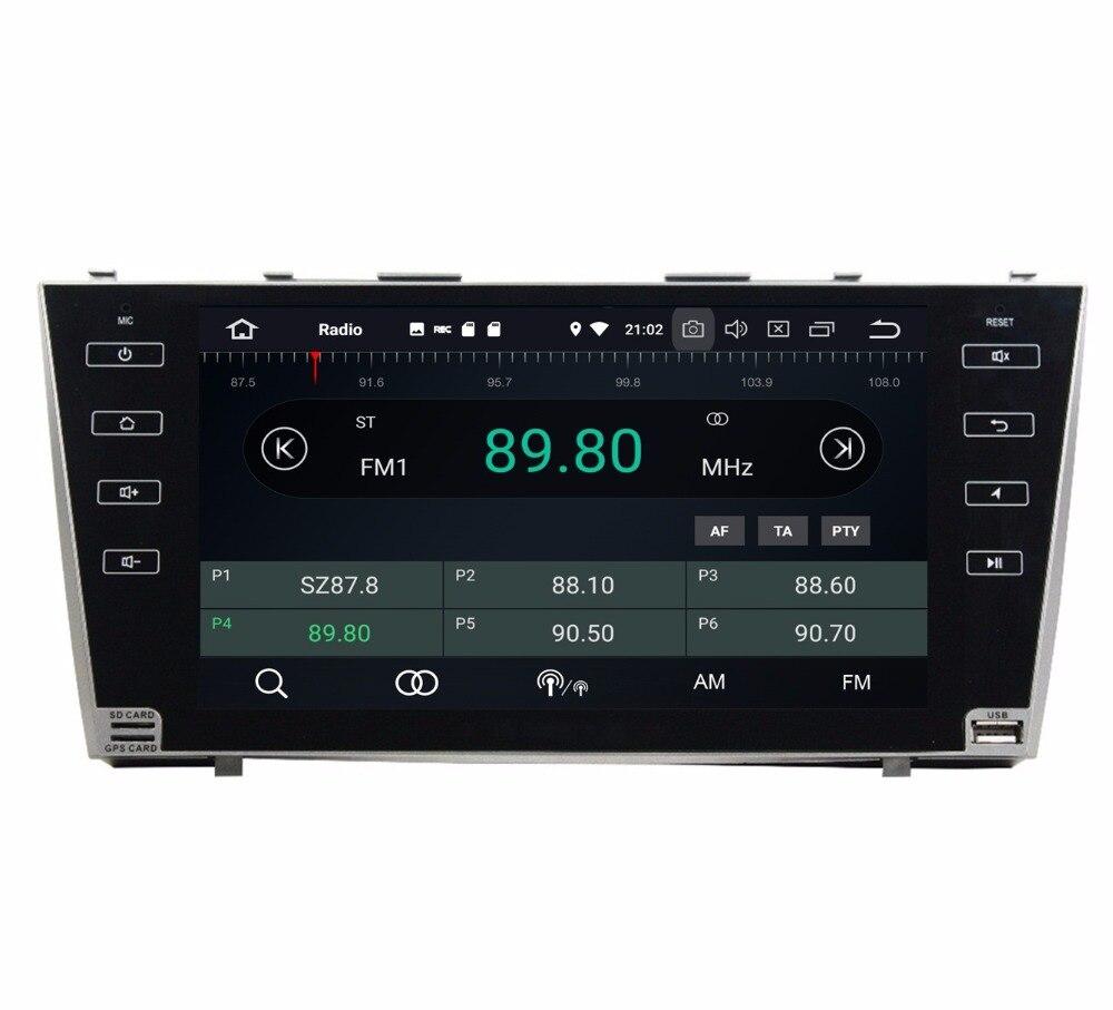 4 ГБ Оперативная память Octa Core 2 din 9 Android 8,0 автомобилей радио мультимедиа gps для Toyota CAMRY 2007- 2011 с Bluetooth WI-FI USB Зеркало-link