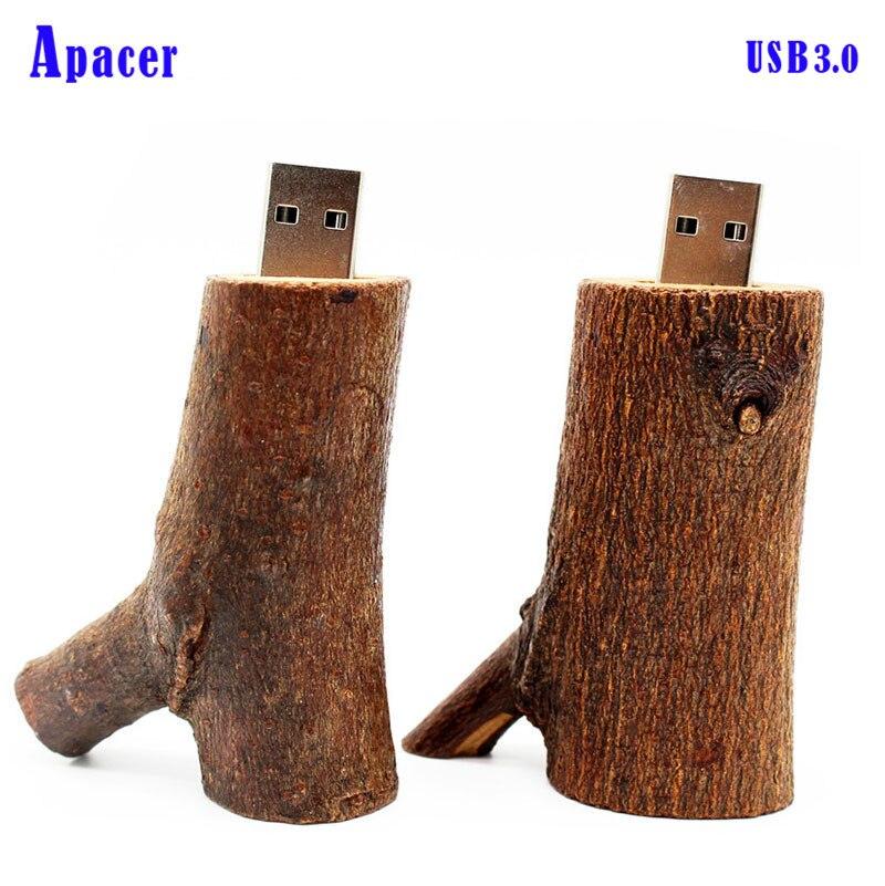 Apacer Wood Branch USB Flash Drive 4GB 8GB 16GB 32GB Pen Drive Pendrive usb3.0 все цены