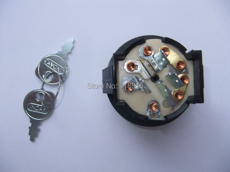 ФОТО CH640 CH740 CH730 CH20S SWITCH KEY  PART NUMBER 25 099 30-S