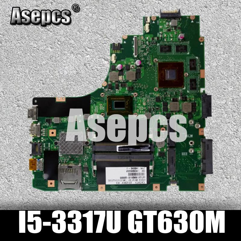 Asepcs K46CM Laptop motherboard for ASUS A46C S46C K46CB K46CM K46C K46 Test original mainboard I5-3317U GT630MAsepcs K46CM Laptop motherboard for ASUS A46C S46C K46CB K46CM K46C K46 Test original mainboard I5-3317U GT630M