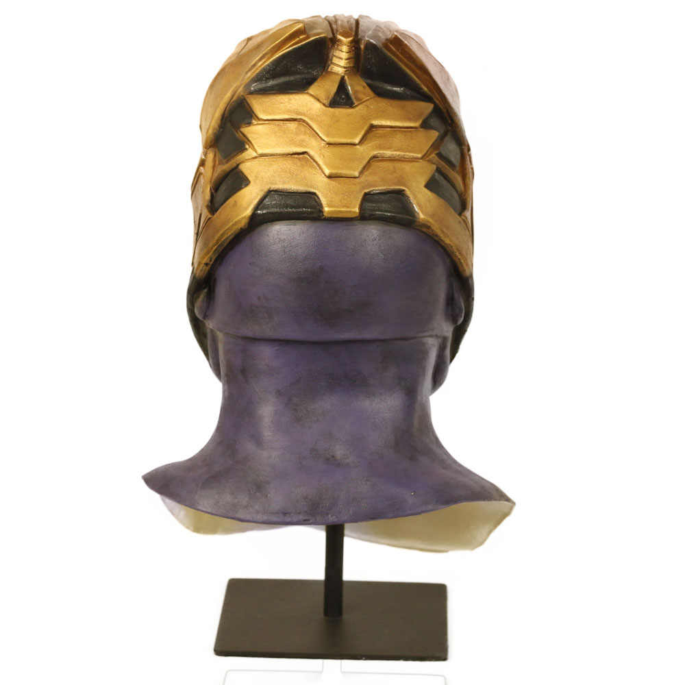 Thanos Mask Cosplay Avengers Endgame Thanos Costume Accessory Latex Masks Full Face Helmet Halloween Carnival Party Props