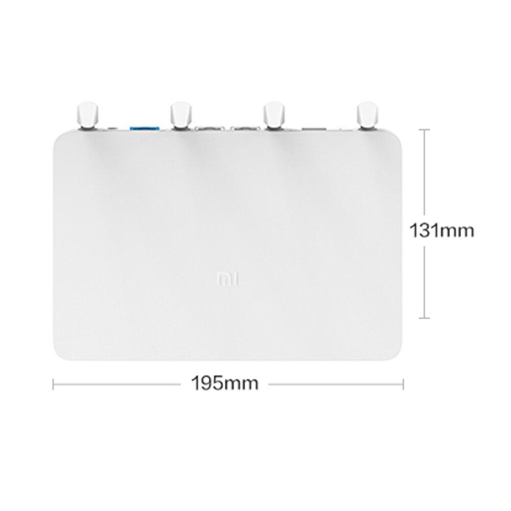 Origine Xiao mi mi Routeur 3G répéteur wi-fi 2.4G/5G 1167 Mbps 256 MB 802.11ac avec 4 antennes 128 MB Flash USB3.0 extension de réseau - 3