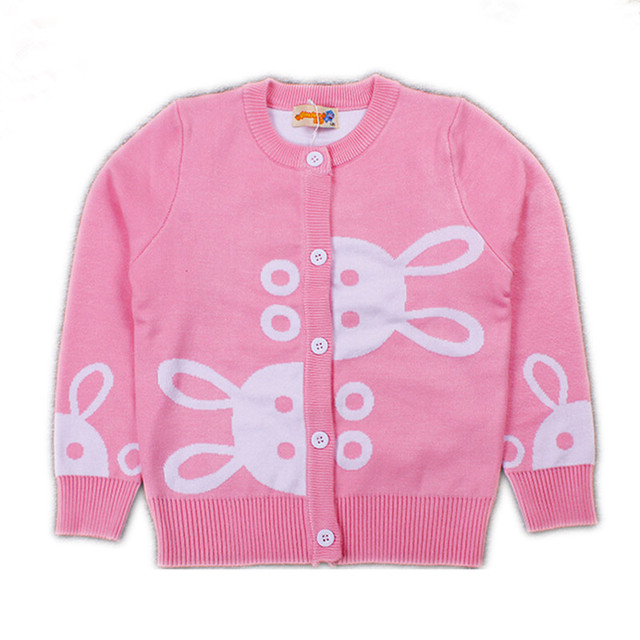 cc1e8f4b5 Quality Girls Cardigan 2016 Autumn Winter Sweater for Girls Cotton ...