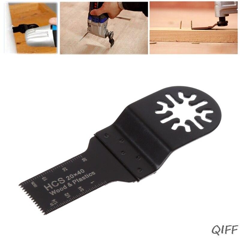 20mm HCS E-cut Standard Saw Blade Oscillating Multi Tool For Bosch Fein Dremel Mar28