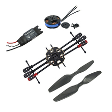 Tarot 680 Pro TL68P00 ARTF Hexacopter dengan 4006 620KV Bermotor & Hobbywing ESC & Propeller FPV Drone Multi-rotor Combo