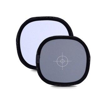 Image 3 - Lightdow Tarjeta reflectora plegable de doble cara, tarjeta reflectora gris de 12 pulgadas, 30cm, 18%, con bolsa de transporte