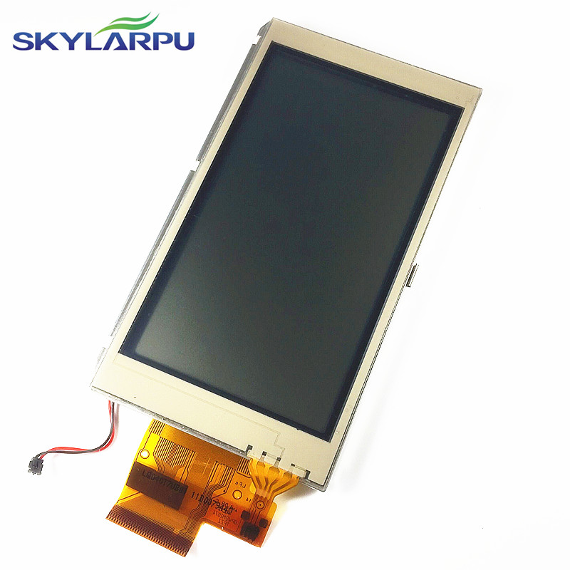 skylarpu 4.0 inch LCD screen for GARMIN MONTANA 610 610t Handheld GPS LCD display Screen with Touch screen digitizer 4 0 inch lcd screen for garmin montana 680 680t handheld gps lcd display screen with touch screen digitizer repair lq040t7ub01
