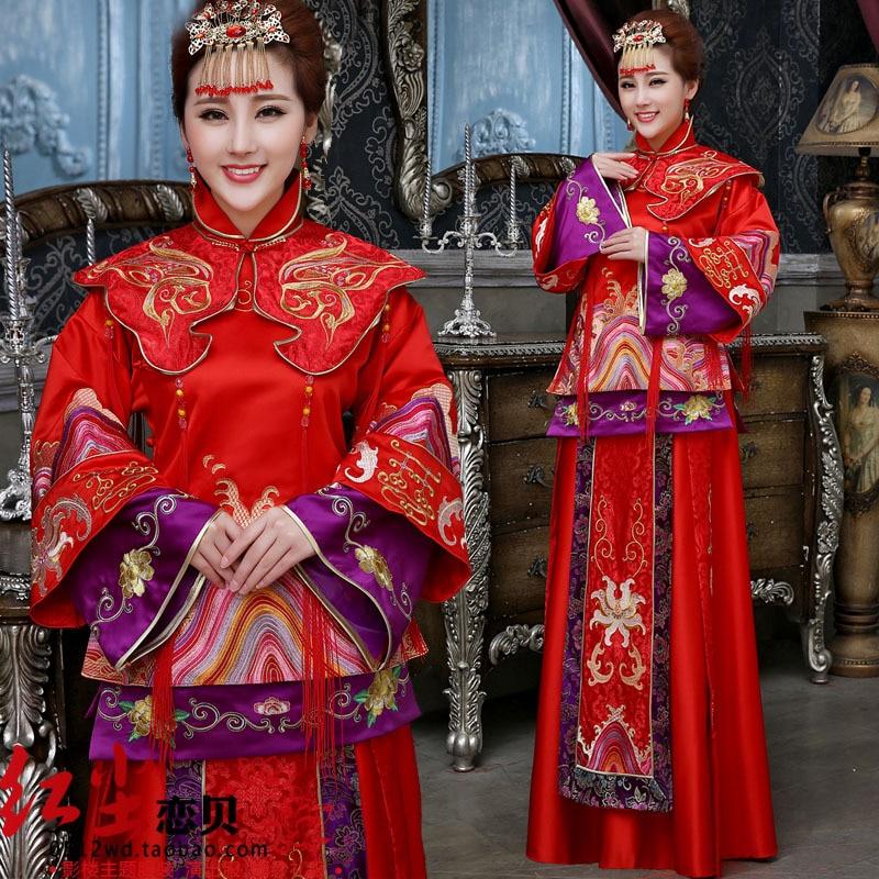 Studio Theme Clothing Xiu Big Red Cheongsam Dress Code