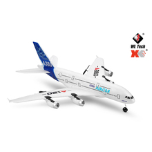 Wltoys XK A120 Airbus A380 Model Remote Control Plane 2.4G 3CH EPP RC Airplane Fixed-Wing RTF RC Wingspan Toy 2018 new biomimetic rc foam airplane epp airplane model bat rc wingspan 1030mm bat epp slow flyer rc plane