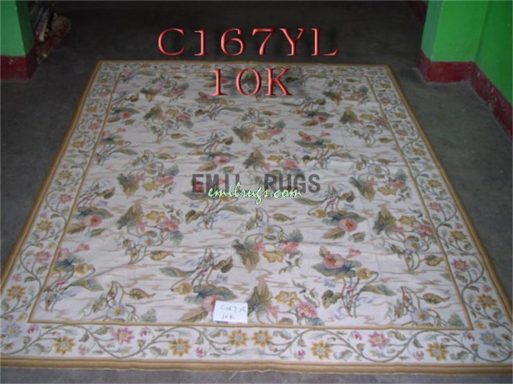 100 Wolle Hand Genht Handgewebte Nadel Teppiche Rugss 244 CM X 305 8X 10 Beige Englisch Garten Gc27nee28