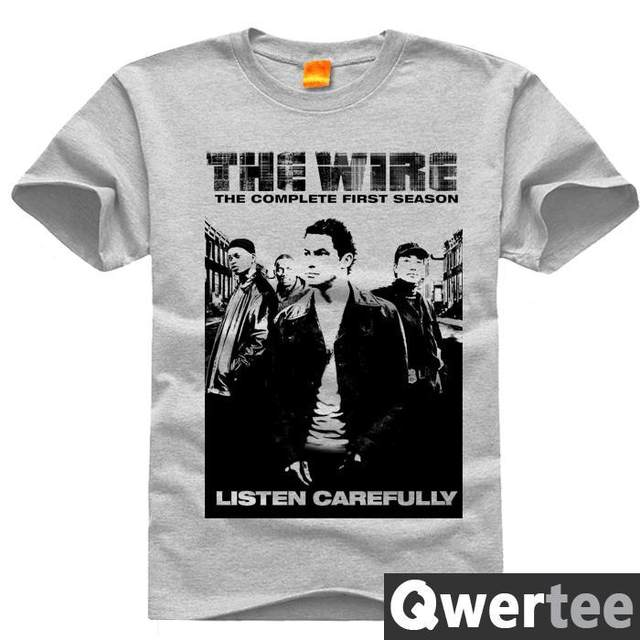 Online Shop THE WIRE LISTEN CAREFULLY Jimmy Cedric Print Fashion ...