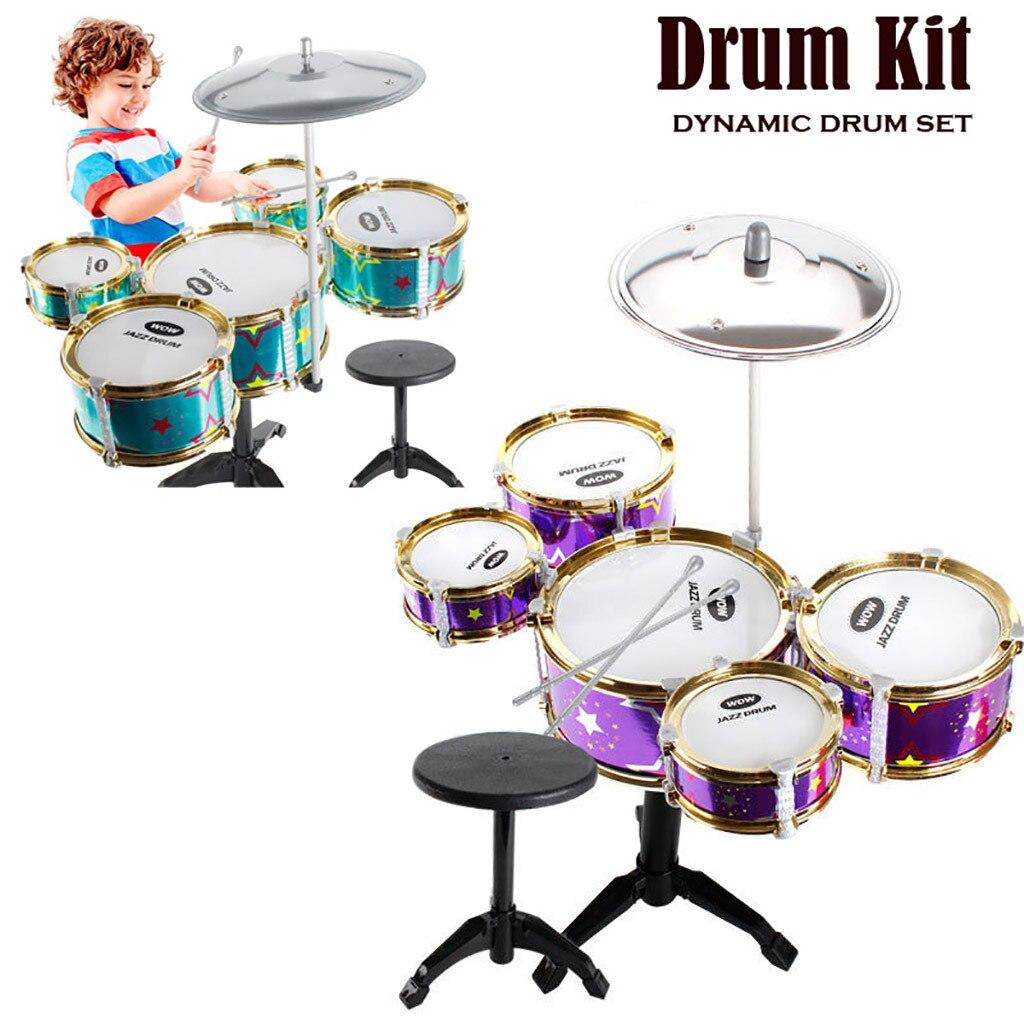 Classique Jazz tambour enfants jouets musicaux stimulant la créativité des enfants cadeau idéal