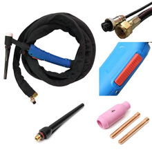 WP 17FV 12 Feet 3.7Meters Tig Welding Torch Complete With Flexible Head Fit TIG Torch