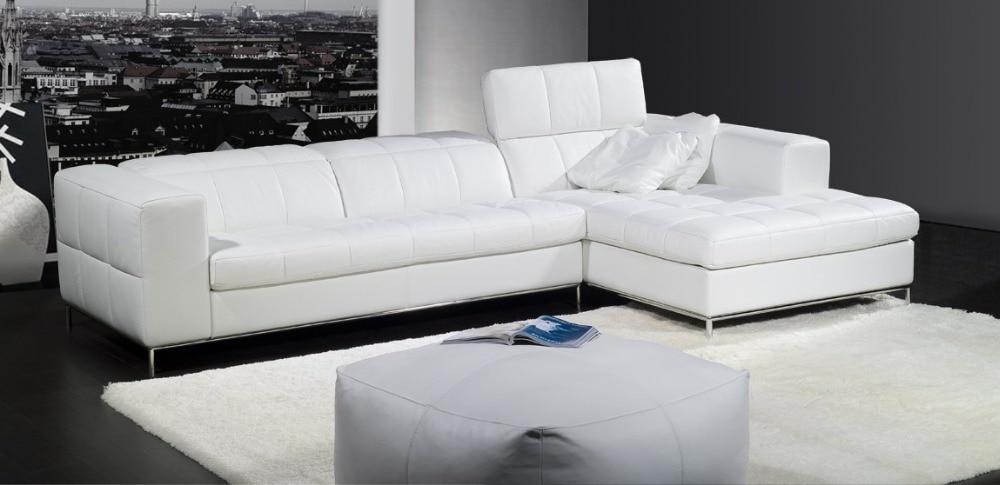 kavč iz pravega usnja kavč garnitura pohištva za dnevne sobe kavč - Pohištvo - Fotografija 3