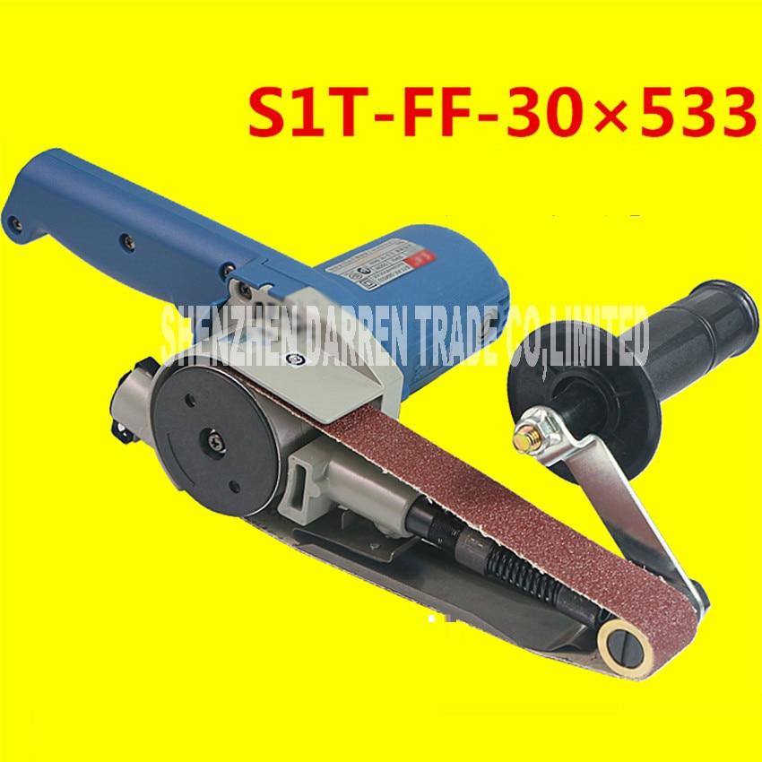 At Variable Speed 30 * 533mm Belt Sander 550 w High Power Wood 220 v Glass Paper Grinder