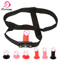 Dildo Realistic Strap On Pants Belt Sex Accessories Bondage Harness Bondage Gear Penis Strapon Sex Products Sex Toys For Gay