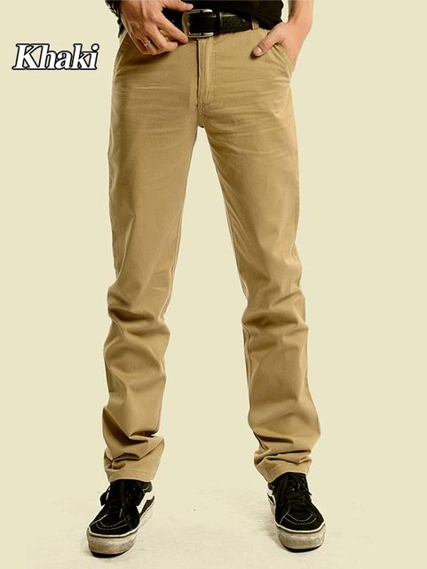 710251e201 US $22.99 |Free shipping hot sale mens leisure fashion cotton suit pants  Slim Straight suit trousers long pants for men W28 W38 CP006-in Pants from  ...