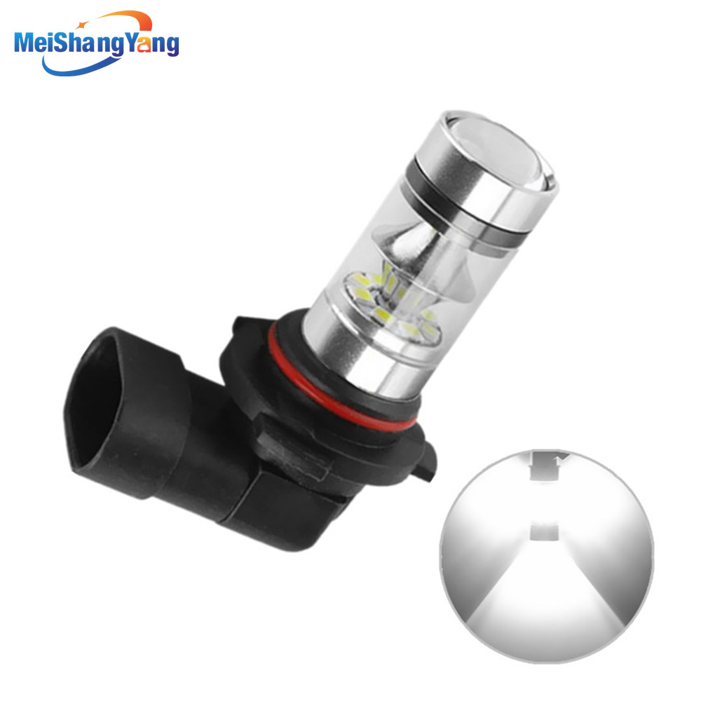 9006 HB4 LED Bulbs Fog Lights Driving Lamp Day Runnight Lights Car Light Source Parking 1250LM 12V-24V 6000K Auto White