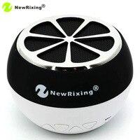 NewRixing NR-1012 Portable Mini Bluetooth Sans Fil Haut-Parleur Citron Forme Avec TF Carte MP3 Lecteur de Musique FM Radio Mains Libres appel