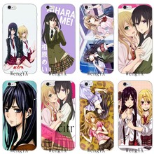 anime girl Citrus Yuzu Aihara Mei Soft case For Huawei Honor 4c 5c 5x 6x V10 Y5 Y6 Y7 II Mate 8 9 10 P8 P9 P10 Lite plus 2017(China)