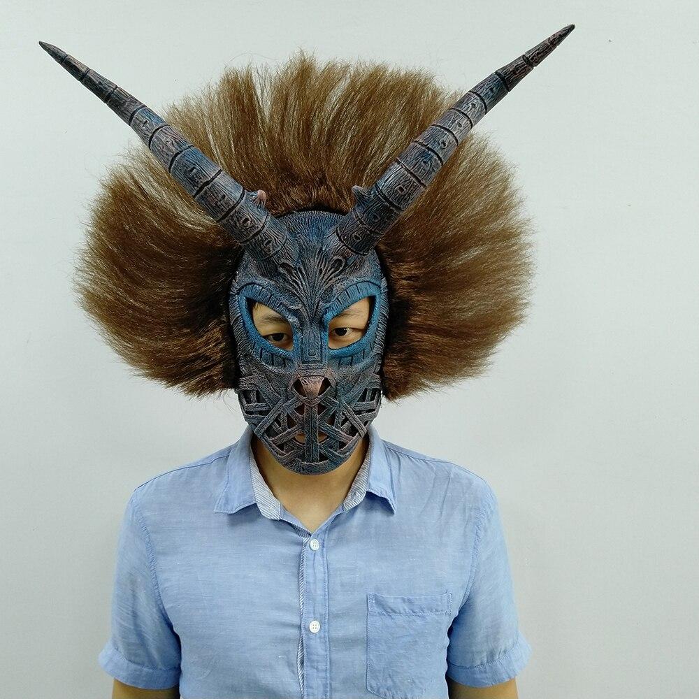 Black Panther Cosplay Masks Helmet Erik Killmonger Costume Props Halloween Party