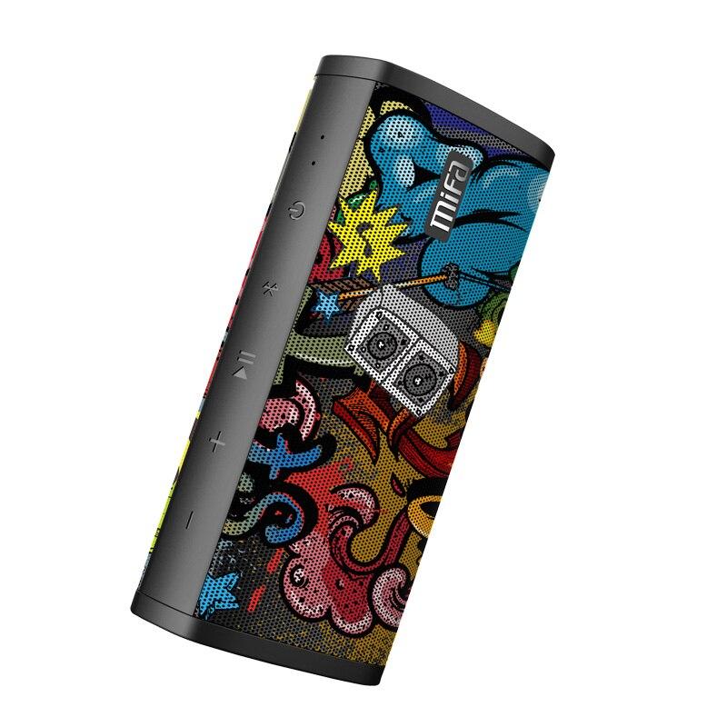 Mifa Coloré Étanche Bluetooth Extérieur Haut-Parleur Stéréo Surround Système Musique Portable Sans Fil Haut-parleurs Pour ordinateur/téléphone