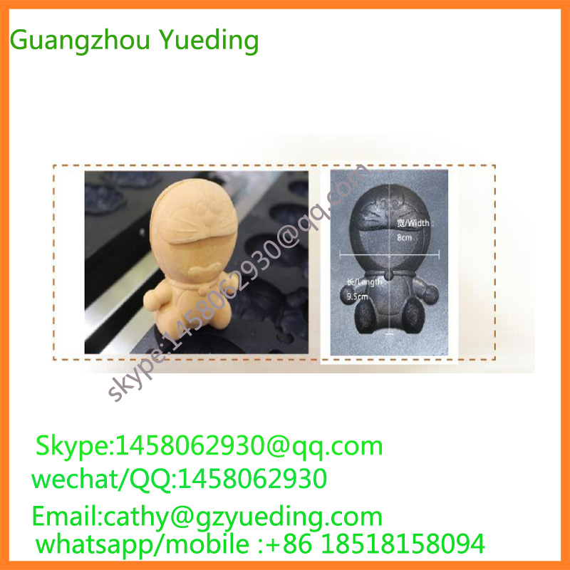 China Cartoon waffle maker,blue cat waffle maker,commercial waffle making machine
