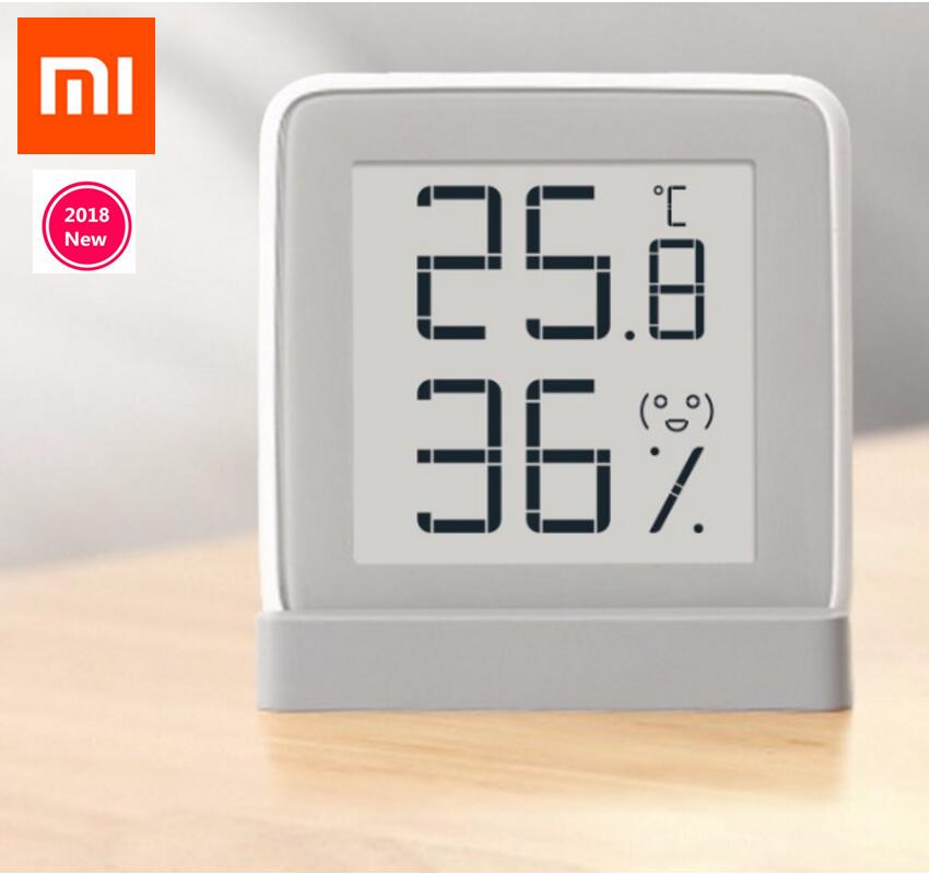 Original xiaomi mijia Mi miaomiaoce Thermometer Temperature Humidity Sensor with LCD Screen Digital E-ink electronic ink screen