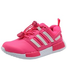 CNOHEHOK spring and autumn kids shoes elastic band children girls sport shoes breathable boys sport shoes