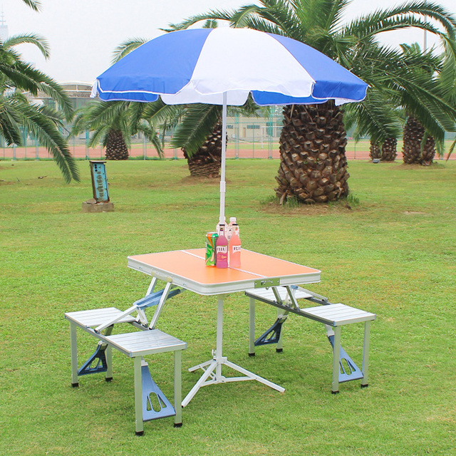 Outdoor Folding Picnic Table  4