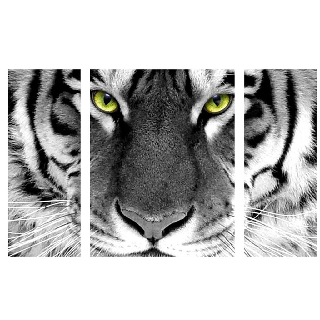Home Decor Crafts & Sewing Cross Stitch Tiger 86x52cm Colorfu Dependable Performance Frugal 5d Diy Diamond Painting Rhinestone Pictures Of Crystals Embroidery Kits Arts Painting & Calligraphy