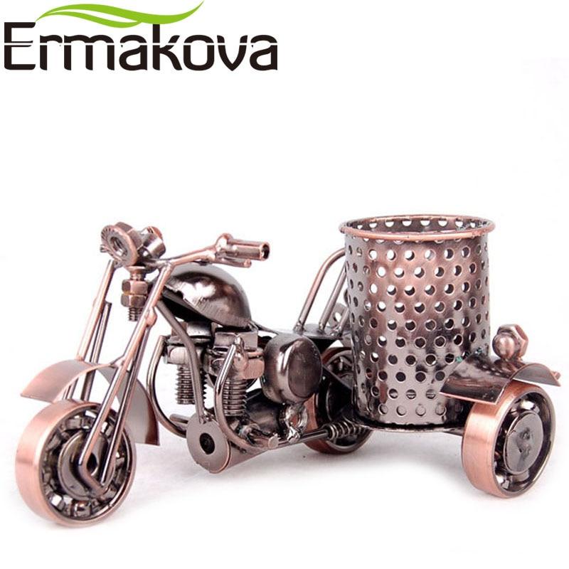 ERMKOVA Металл Мотоцикл үлгісі Ретро - Үйдің декоры - фото 4