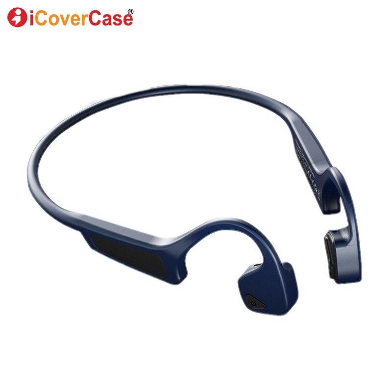 Pour Huawei Honor 8X Max 9 Lite 10 8 7X 7A 7C 6X 6A 6C V9 V10 V20 Écouteurs à Conduction Osseuse Casque Sans Fil Bluetooth Casque