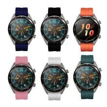 22 мм силиконовый браслет для huawei Watch GT 2, сменный спортивный смарт-браслет для часов GT Honor, магический ремешок, аксессуары