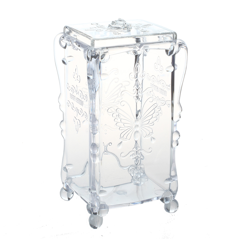 Swab Organizer Cotton Pad Box Jewelry Box Jewelry Box Cosmetic Case Acrylic