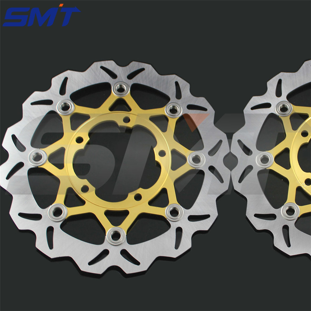 Motorcycle Accessories rear arashi brake disc rotor disk CNC Aluminum For SUZUKI GSX-R 600 750 2006 2007 2008 2009 2010 GSXR stainless steel rear brake disc rotor for bmw g 650 x moto 650 2007 motorcycle disk spare parts accessories