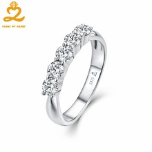 Natural Topaz Wedding Rings for Women Silver Bridal Set 925 Sterling Silver Rings Engagement Women's Ring Fine Jewelry