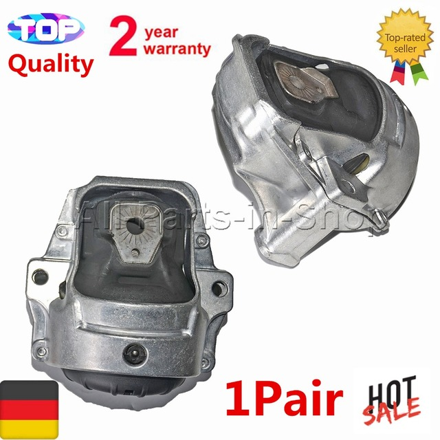 Pair Motor Mountsengine Mountingengine Bearing For Audi A4 8k2 B8