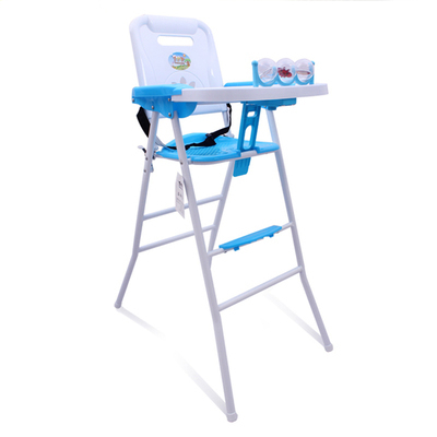 0ed149438e488 Free shipping baby trend Sit-Right baby high chair easy fold high chair  portable feeding chair 2 in 1 with safety design