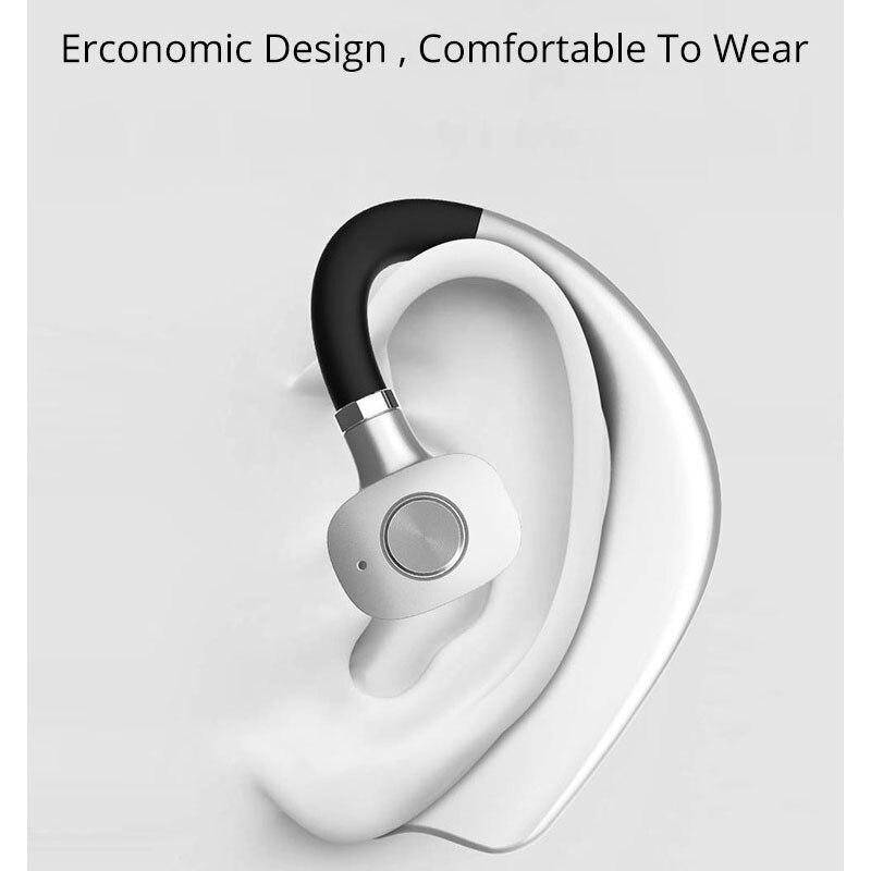 ISKAS Wireless Headphones 5.0 Bluetooth Handfree Headphone Wireless Bluetooth Cell Phones Hands Free Dynamic Electronics Bass