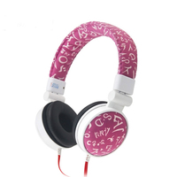 Newest Children Headphone Foldable Child Earphone Headset Wire Control Wired Phone Boy Girl Headset With Microphone