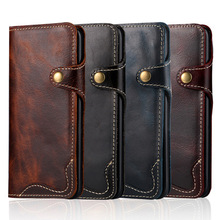 10PCS Sumgo Case Vintage Genuine Leather  Wallet Cover for Samsung S8 Plus for Samsung S8 Leather Bag