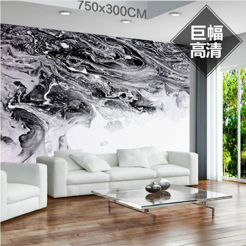 Customization backgrounds 3D wallpaper for walls 3d wallpaper murals photo moisture-proof for living room Simple Nordic Hand