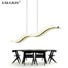 LED Pendant lights Modern Kitchen Acrylic Suspension Hanging Ceiling Lamp Design Dining Table Lighting for Deco Home 38W VALLKIN