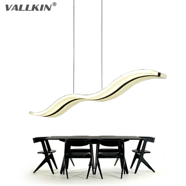 Led lampes suspendues moderne cuisine acrylique suspension for Suspension led cuisine design