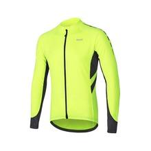 ARSUXEO Mens Full Zipper Kolarstwo Jersey rower Koszulka rowerowa długie rękawy MTB góry rower koszulki Odzież Wear 6030 tanie tanio Rowerowe Dziane Przeciwzmarszczkowe oddychające anty-Pilling kieszenie odblaskowe anty-Shrink anty-pot szybkie suche