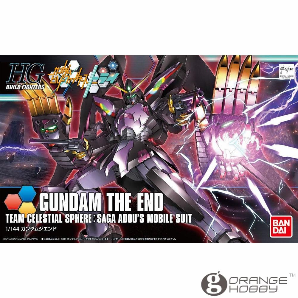 OHS Bandai HG Build Fighters 036 1/144 Gundam The End Mobile Suit Assembly Model KitsOHS Bandai HG Build Fighters 036 1/144 Gundam The End Mobile Suit Assembly Model Kits