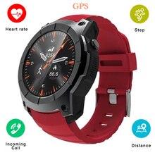 2018 S958 Smart Watch Fitness Tracker GPS Sport Pedometer Smartwatch Support SIM TF Card Heart Rate Sports Waterproof Wristwatch
