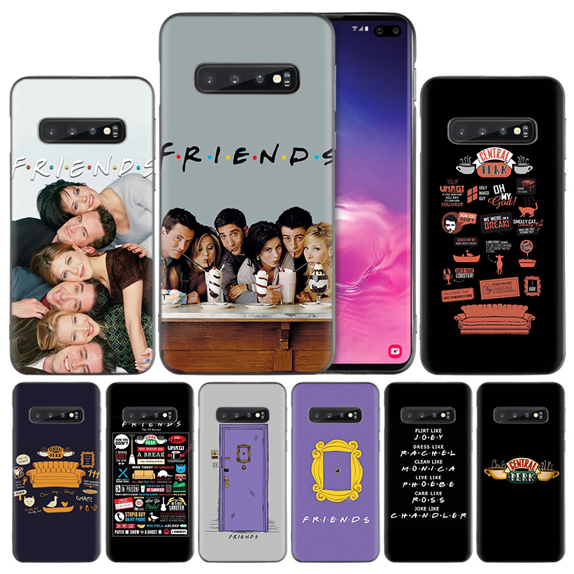 friends tv show Silicone Case Cover for <font><b>Samsung</b></font> <font><b>Galaxy</b></font> A50 A70 A40 A30 <font><b>A20</b></font> A20e A10 A9 A8 A7 A6 Plus 2018 M30 M20 M10 Note 8 9 image